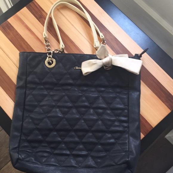 22cac4d93e9 Gionni Handbags - GIONNI Quilted Bow PURSE TOTE